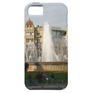 Barcelona--Plaza--Catalunya--[kan.k].JPG iPhone 5 Case