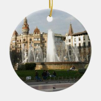 Barcelona--Plaza--Catalunya--[kan.k] .JPG Ornato