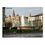 Barcelona--Plaza--Catalunya--[kan.k] .JPG Postal