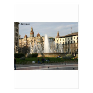Barcelona--Plaza--Catalunya--[kan.k].JPG Postcard