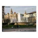 Barcelona--Plaza--Catalunya--[kan.k] .JPG Tarjeta Postal