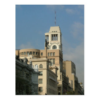 Barcelona Postcard
