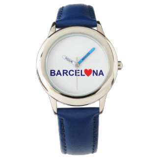 Barcelona red heartwood of beech watches