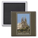 Barcelona Sagrada Familia Iman De Frigorífico