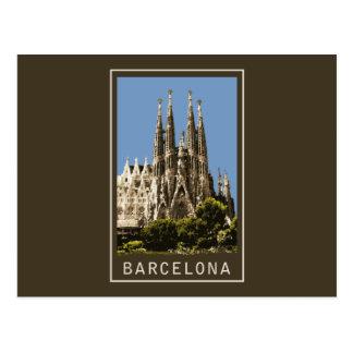 Barcelona Sagrada Familia Postcard