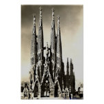 Barcelona, Sagrada Familia Póster