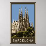Barcelona Sagrada Familia Póster