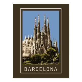 Barcelona Sagrada Familia Tarjetas Postales