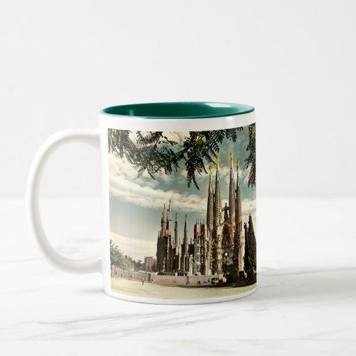 Barcelona souvenir mug zazzle for Mug barcelona