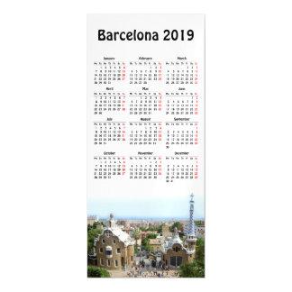Barcelona, Spain 2019 calendar Magnetic Invitation