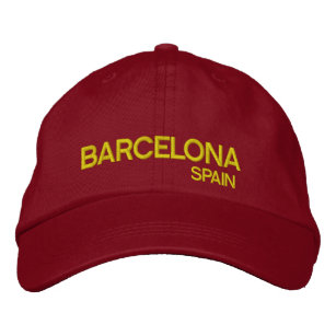 Barcelona  Spain Adjustable Hat 49398f2bd8f