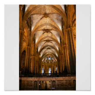 Barcelona Spain Cathedral Posters