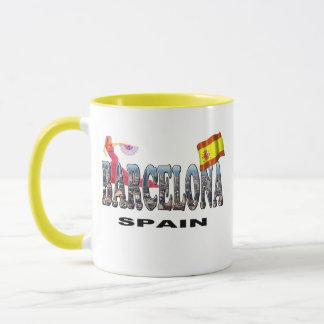 Barcelona Spain Mug