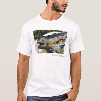 Barcelona Spain Parc Guell Mosaic Lizard T-Shirt