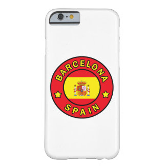 Barcelona Spain phone case