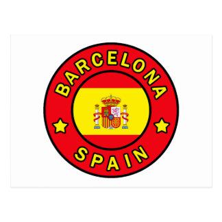 Barcelona Spain Postcard
