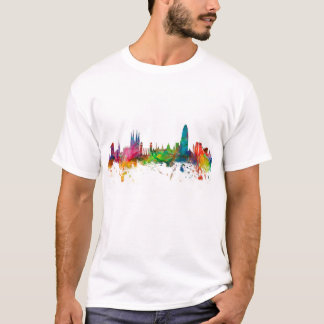 Barcelona Spain Skyline T-Shirt