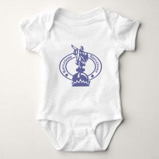 Barcelona Stamp Baby Bodysuit
