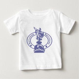 Barcelona Stamp Baby T-Shirt