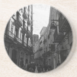 Barcelona Street Drink Coaster