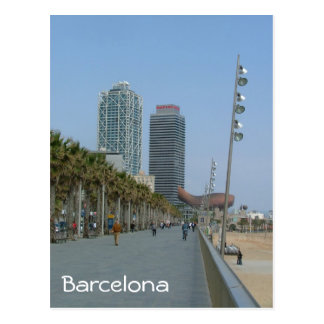 Barcelona Tarjeta Postal