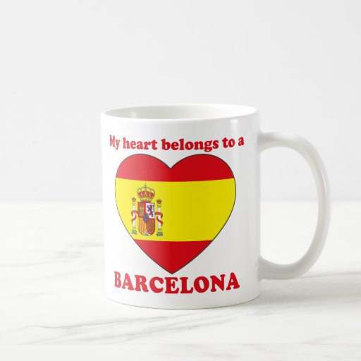 Barcelona Taza