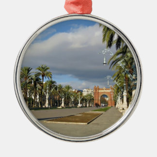 Barcelona The Arc de Triomf Metal Ornament