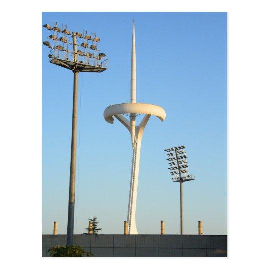 Barcelona TV tower Postcard