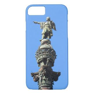 Barcelona's Columbus Monument iPhone 7 Case