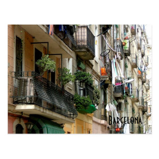Barceloneta Postcard