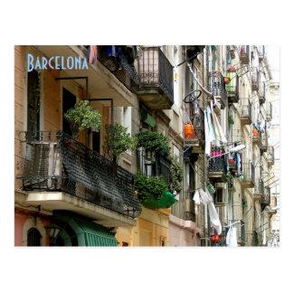 Barceloneta Tarjeta Postal