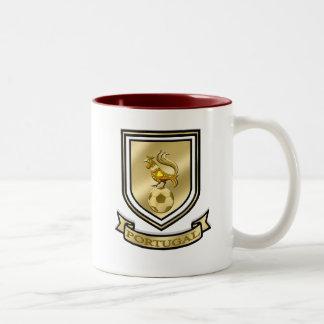 Barcelos Brasão de Portugal Two-Tone Coffee Mug