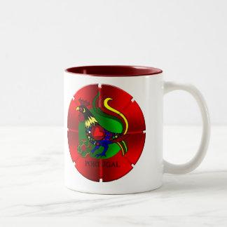 Barcelos Futebol - Por Tugas de Portugal Two-Tone Coffee Mug