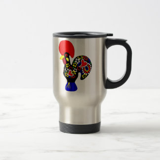 Barcelos Galo do Portugal por os portugueses Travel Mug