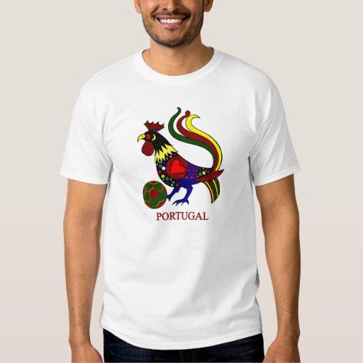 "Barcelos ""galo"" jogador de futebol de Portugal Remera"