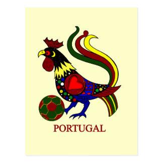 """Barcelos """"galo"""" jogador de futebol de Portugal Postal"""