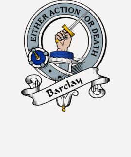 Barclay Clan Badge T-shirt
