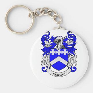 BARCLAY Family Crest Keychain