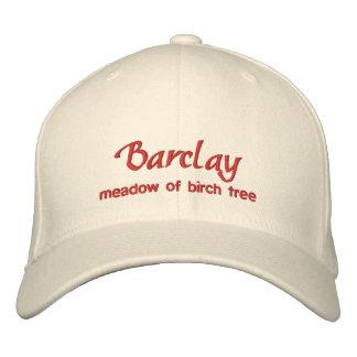 Barclay Name Cap / Hat