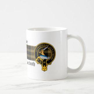 Barclay Scottish Crest and Tartan mug