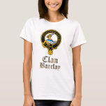 Barclay Scottish Crest Tartan Clan Name Clothes T-Shirt