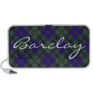 Barclay Scottish Tartan iPod Speakers