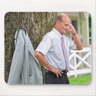 Barclay Tagg Trainer of Funny Cide Mouse Pad