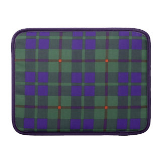 Barcley clan Plaid Scottish kilt tartan MacBook Air Sleeve