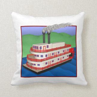 Barco 2 del vapor almohada