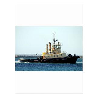 Barco 5 del tirón postales