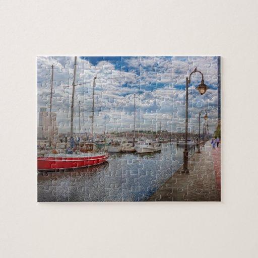 Barco - Baltimore, MD - un día agradable en Baltim Puzzle Con Fotos