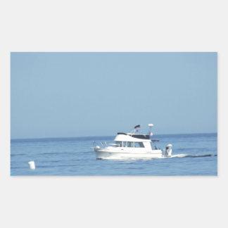 Barco blanco rectangular altavoz