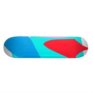 Barco congelado del fuego de la tierra ninguna men skate boards