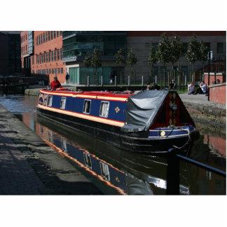 Barco de canal fotoescultura vertical
